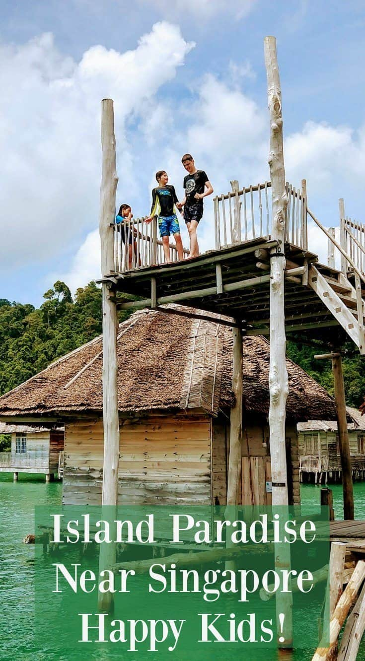 Island near Singapore. Family Travel in Indonesia, Telunas Resorts