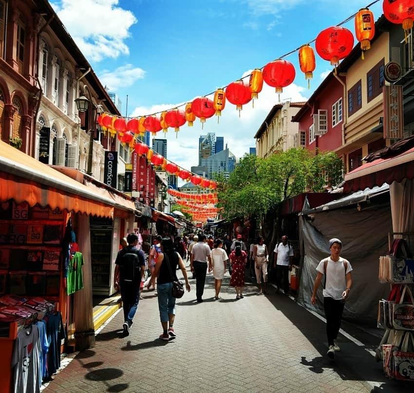 Singapore China Town
