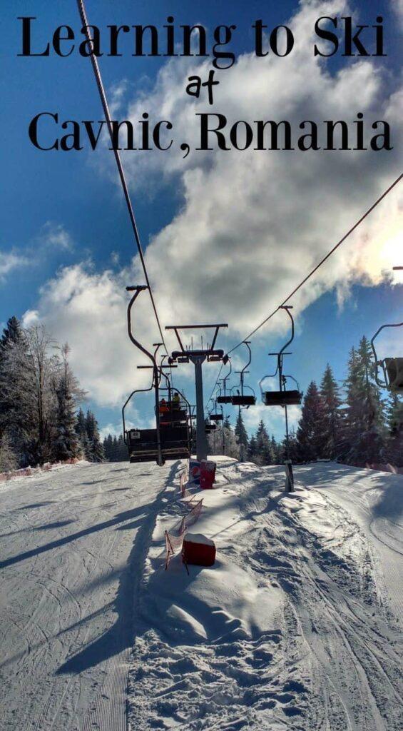 Skiing in Romania,Cavnic Maramures