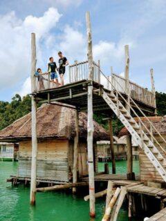Telunas Resorts Beach Resort Diving Platform