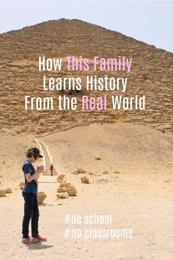 Worldschooling history