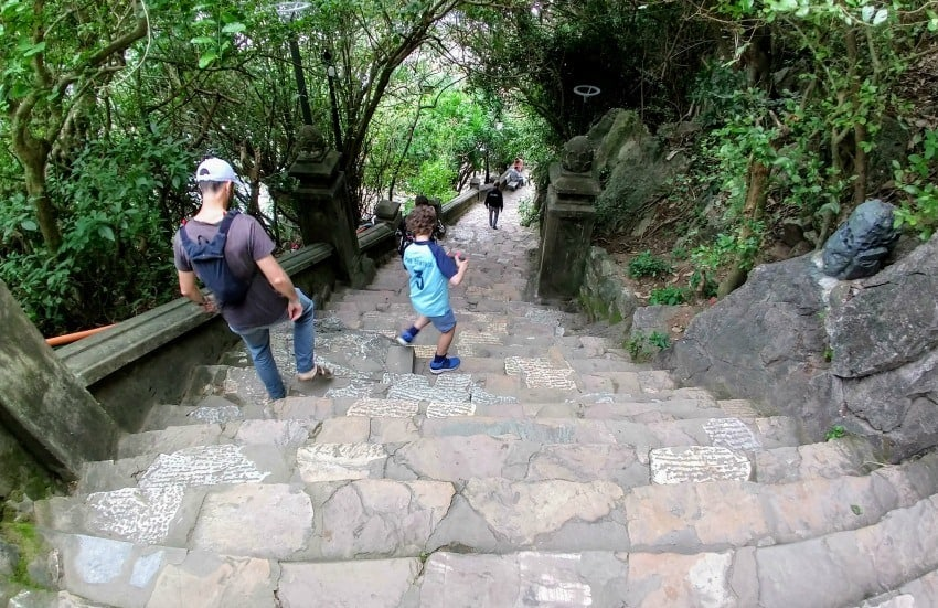Marble Mountain Hoi An Danang With Kids Steps