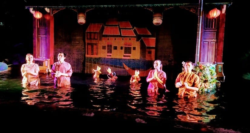 Water puppets in Hoi An