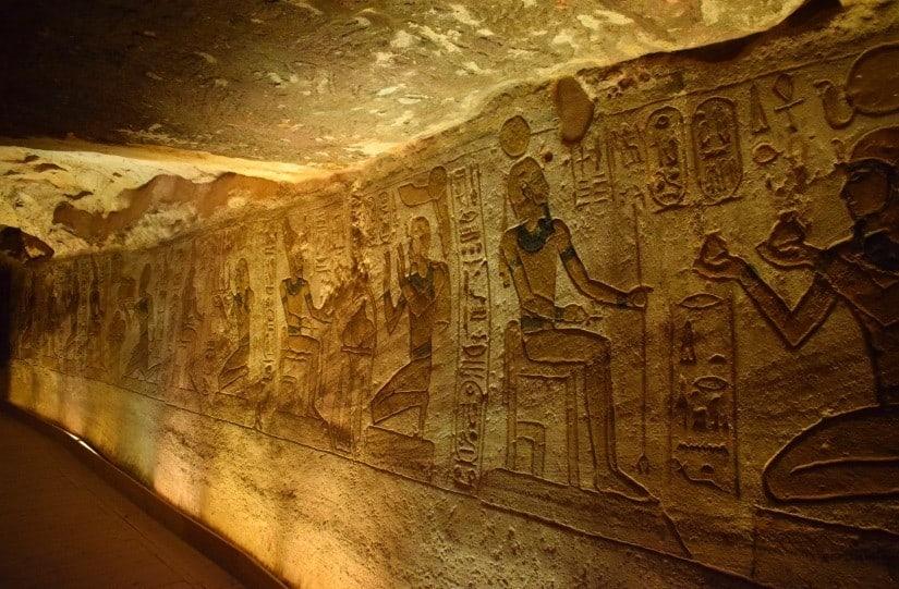 Abu Simbel Inside the Temple photo
