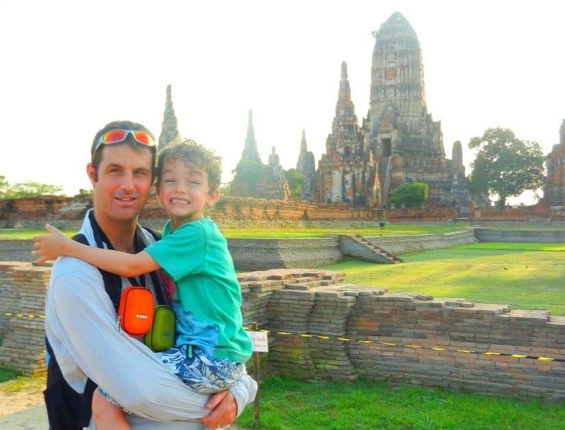 Ayutthaya from Bangkok Thailand Itinerary with Kids