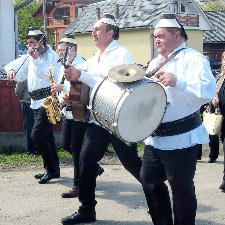 Breb Village Band at Hoteni Ploughing Festival