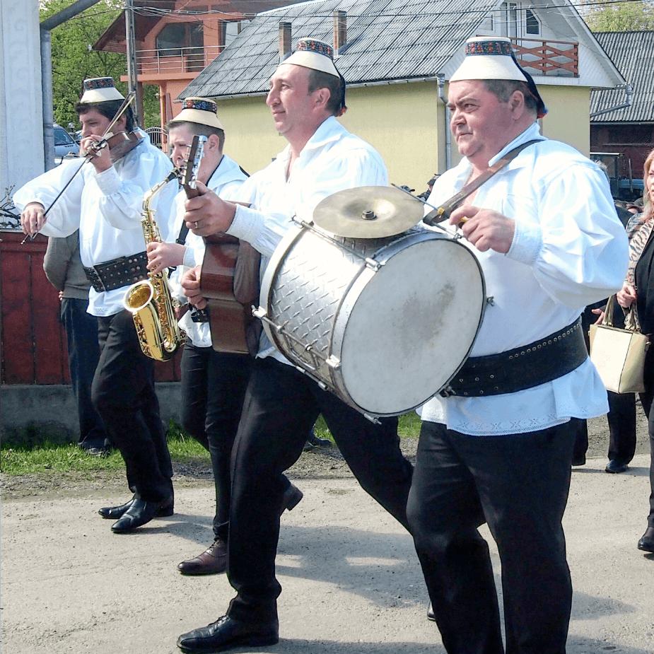 Breb Village Band at Hoteni Ploughing Festival