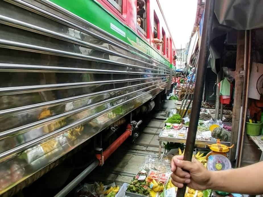 Maeklong Railway Market Day Trip from Bangkok