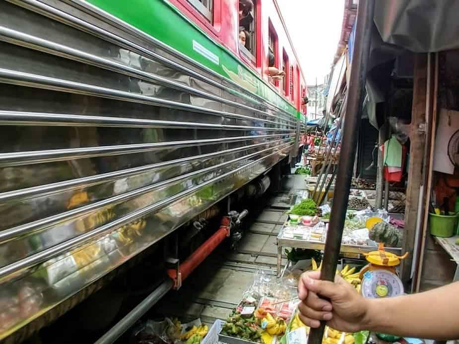 Maeklong Railway Market Day Trip from Bangkok