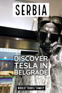 Serbia discover tesla in belgrade