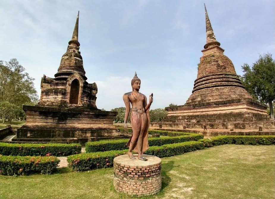 Sukhothai Historical Park Walking Buddha