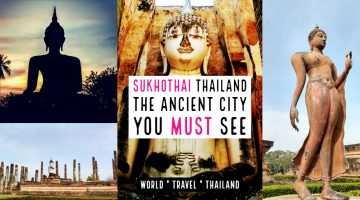 Sukhothai thailand the ancient city
