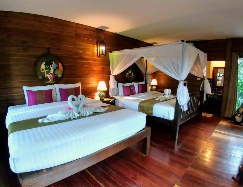 Thai Thai Resort Guest House Sukhothai Family Room Review