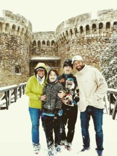 Things to do in Belgrade, Serbia. Belgrade Fortress in the Snow