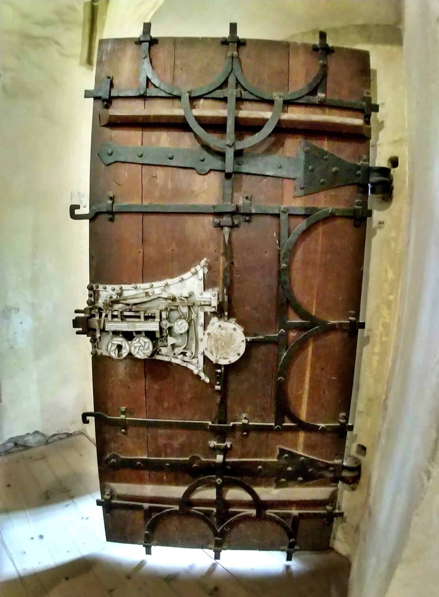 Biertan Transylvania Amazing Lock in Fortified Church