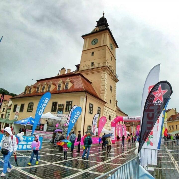 Brasov Marathon Piata Sfatului Former Council Building