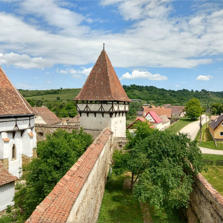 Fortified Saxon Churches of Romania. The Saxon Trail Transylvania