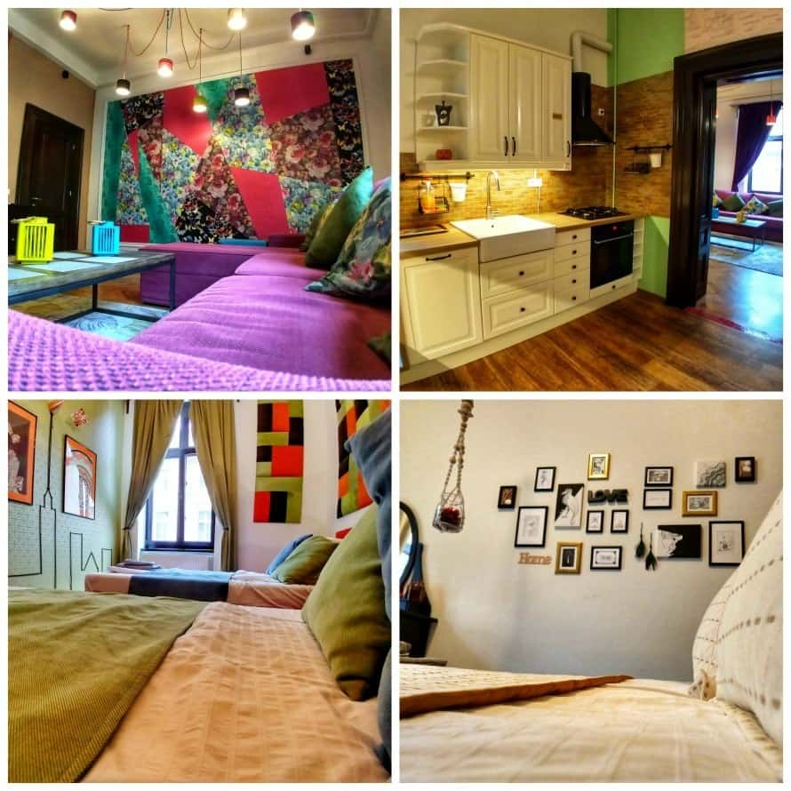 Luxury holiday apartment in Brasov Romania