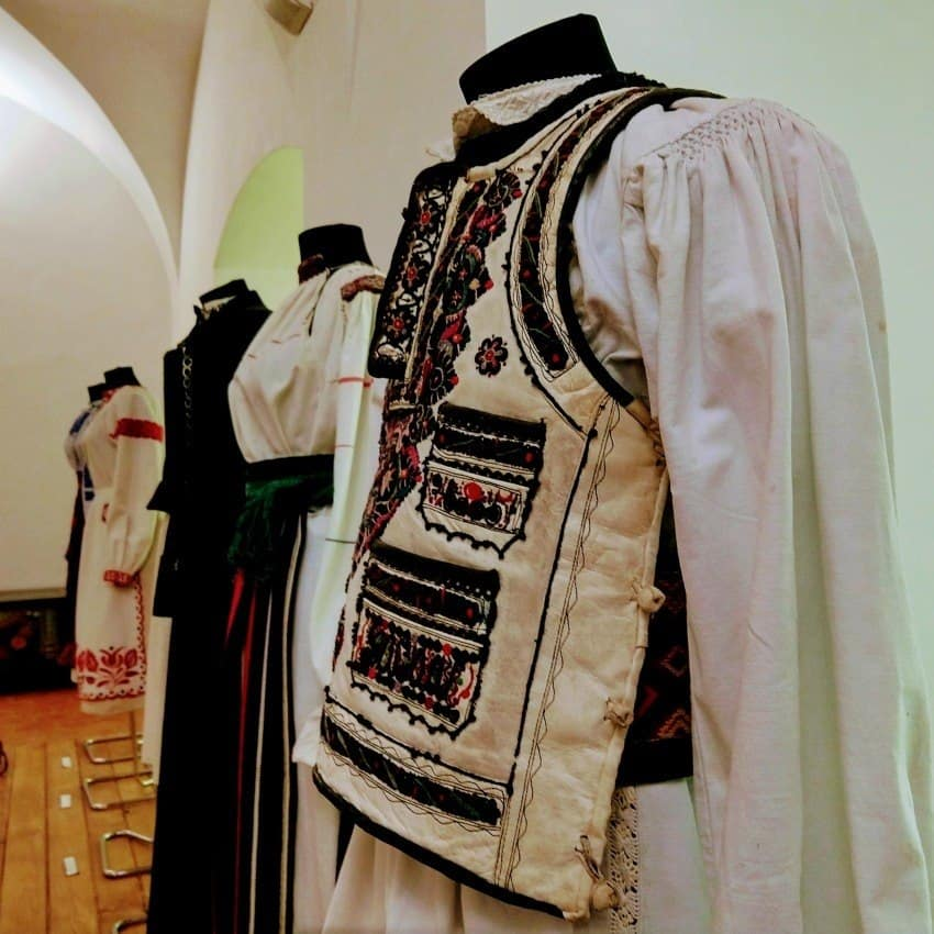 Museum of Romanian costume at Fagaras Citadel