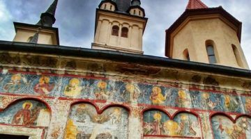 The Oldest Church in Brasov Transylvania Romania Saint Nicholas Church
