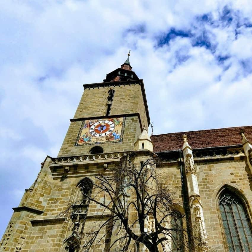 The black church in Brasov Transylvania