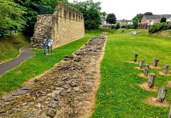 Hadrian's Wall at Segendum Walls End Blog
