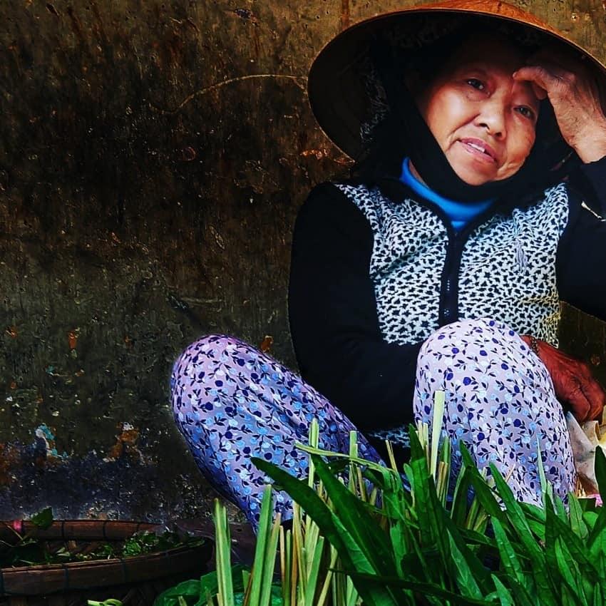 Hoi An Photo Walks Vietnam Lady in the Market