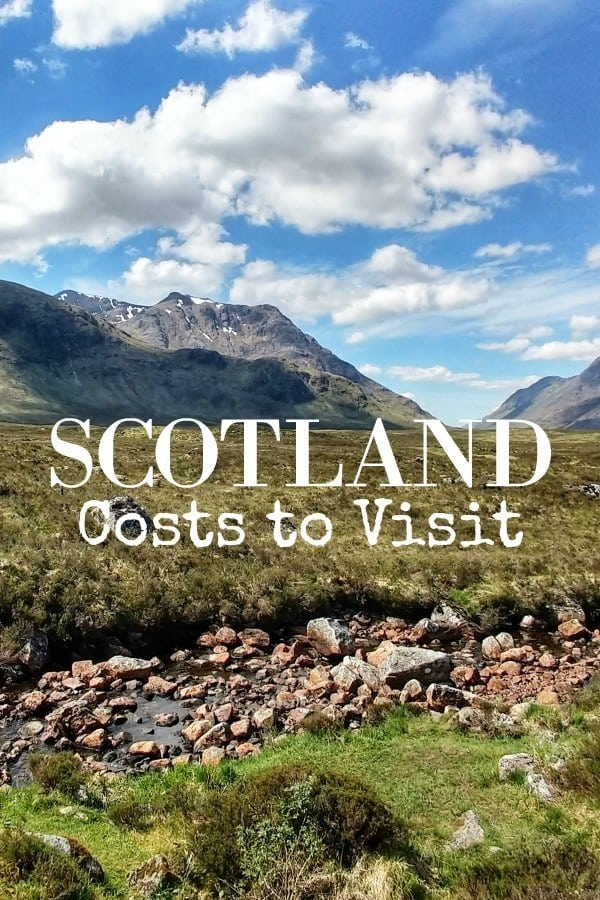 Scotland Costs to Visit