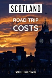 Scotland Road Trip Costs