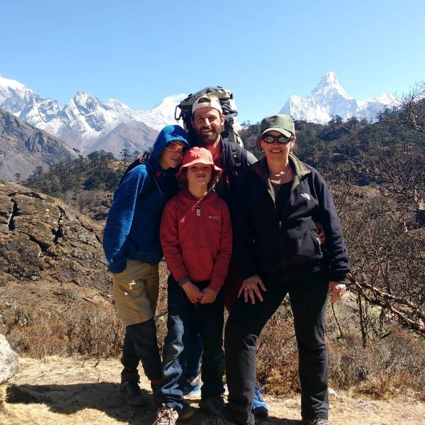 World Travel Family Blog Everest Trekkers