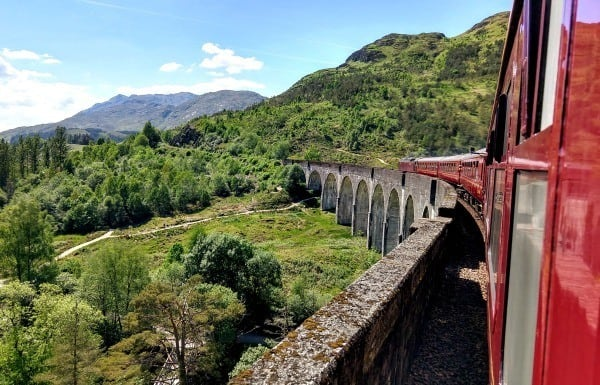 the jacobite waste of money rip off glenfinnan viaduct harry potter train hogwarts