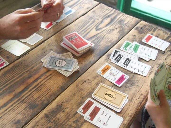 Monopoly Card Game, Travel Games for Traveling Families