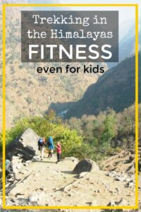 trekking in the Himalayas Firtness and training