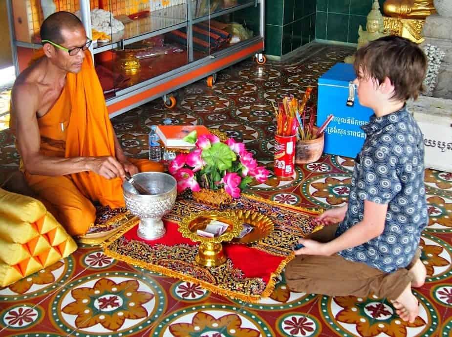Battambang Cambodia Southeast asia with kids