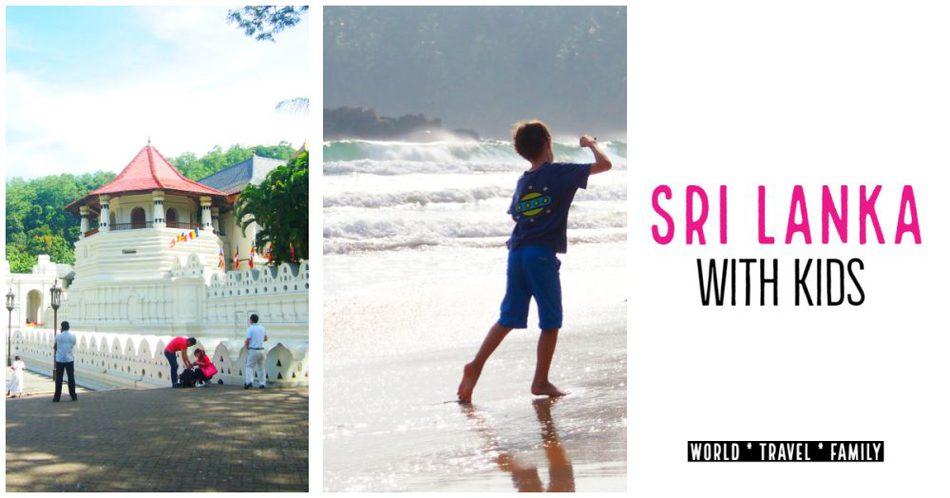 Sri Lanka with kids blog