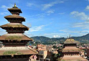 Bhaktapur view Nepal Himalayas