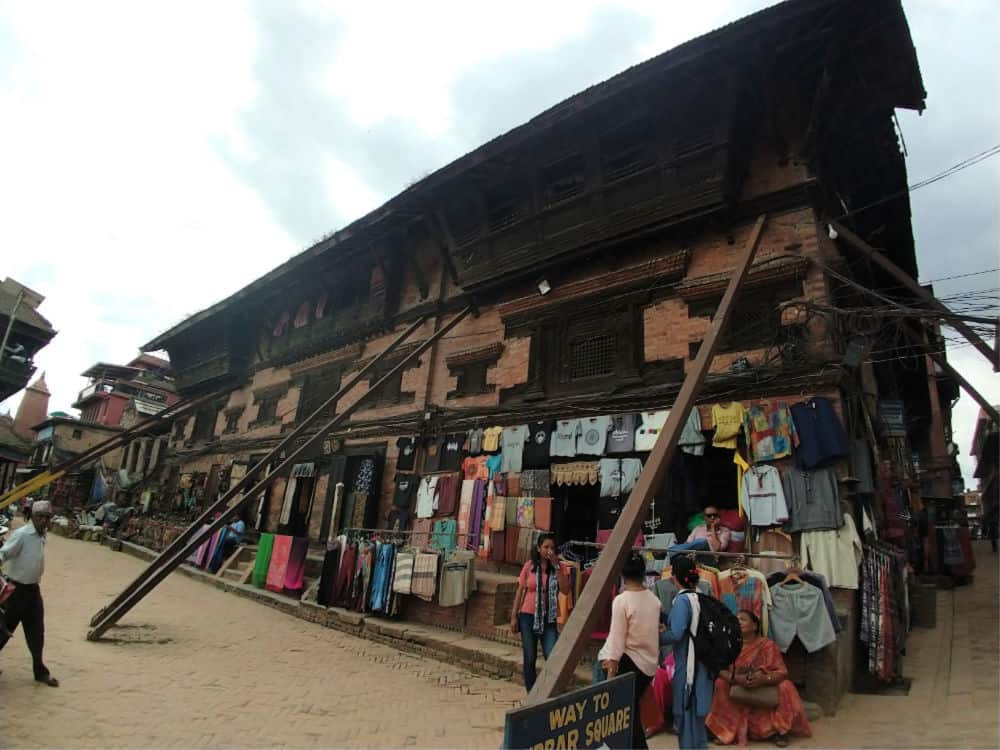 Bhaktapur Earthquake Damage