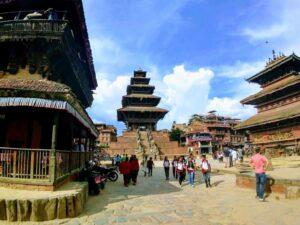 Bhaktapur Nepal tallest temple