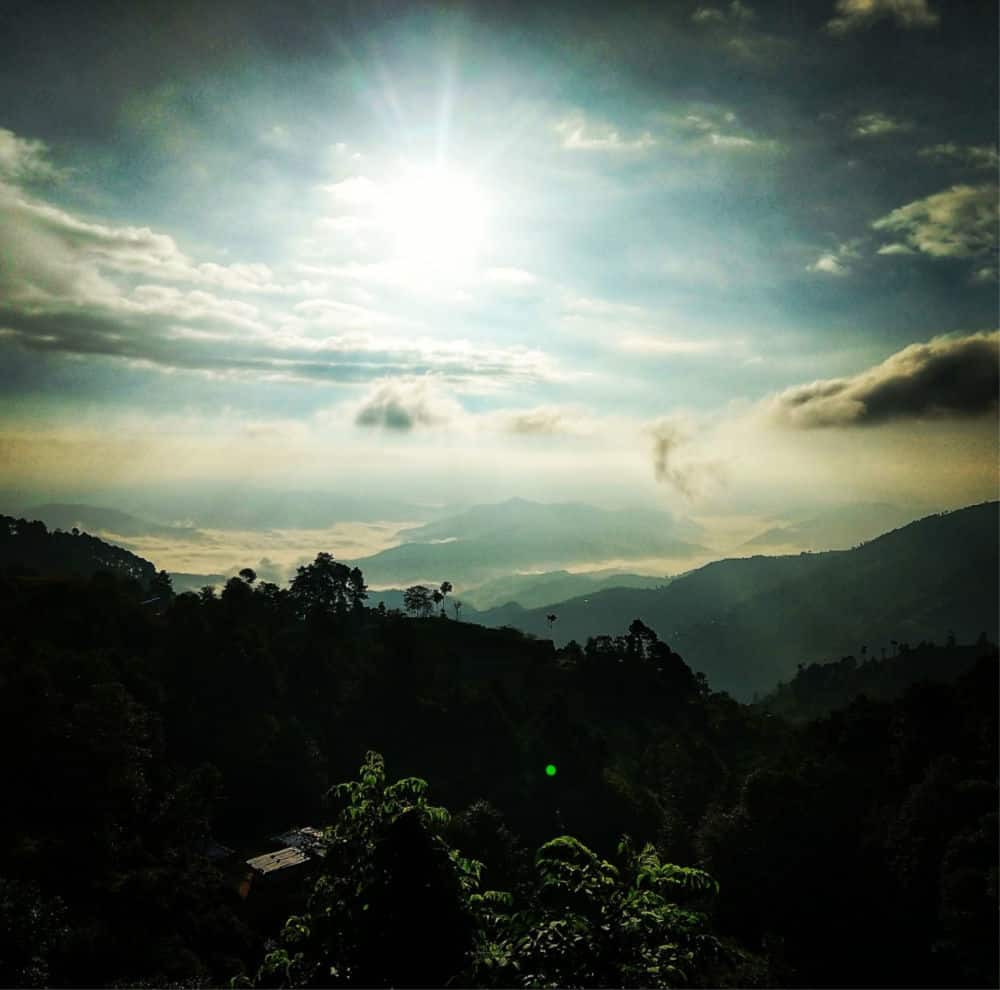 Dawn view from Nagarkot