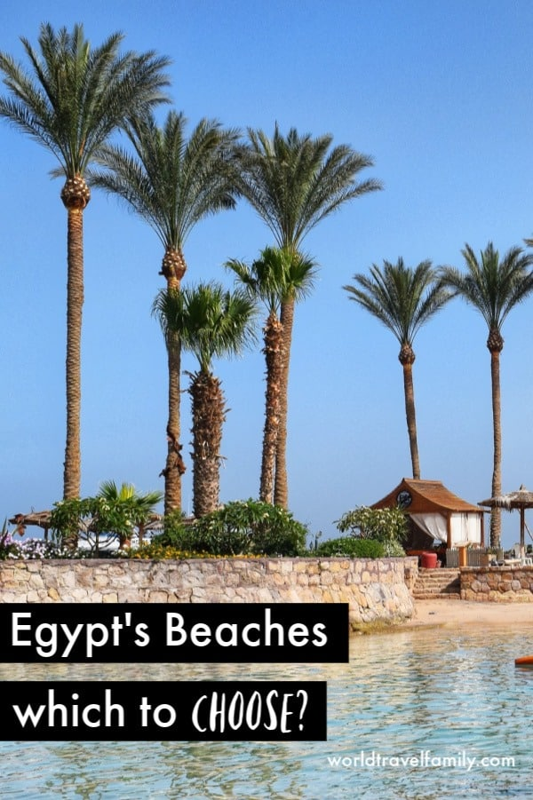 Egypt's Beaches which to choose