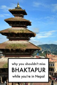 Visiting Bhaktapur Nepal