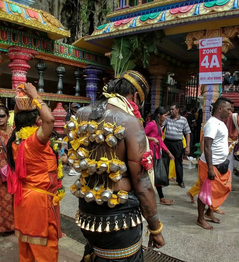 flesh hooks festival Hindu piercing ritual We travel to experience other cultures