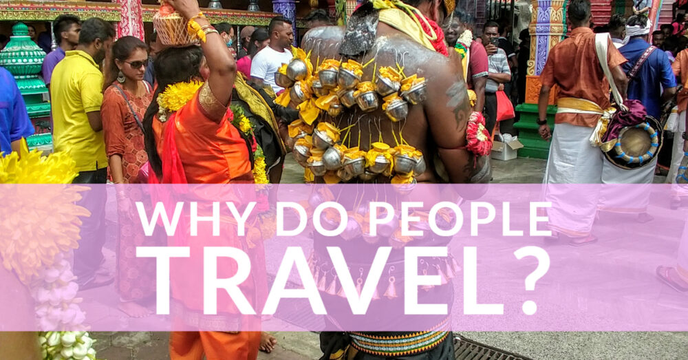 Religeous Festival. Reason People Travel