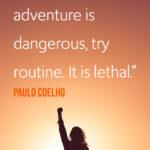 paolo coelho travel quote