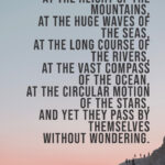 travel quote st augustine