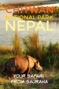 Chitwan National Park Nepal Safari Sauraha