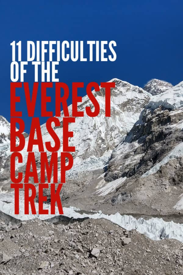 Everest Base Camp Trek. Difficulties and Hardships, from Phaplu to Lukla to EBC