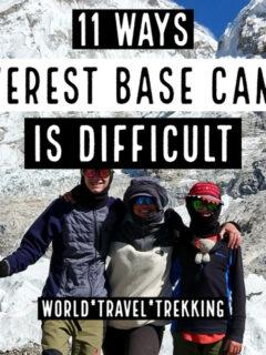 Everest Base Camp Trek Difficult