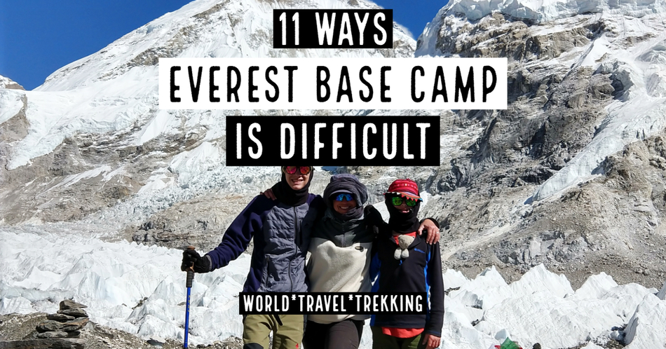 Everest Base Camp Trek Difficult