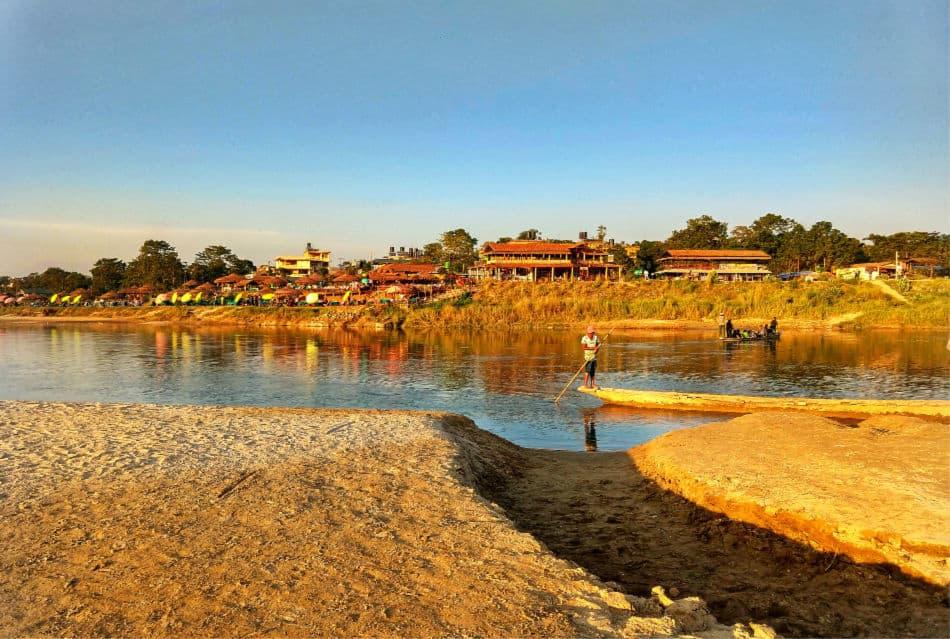 Sauraha Nepal. Chitwan National Park